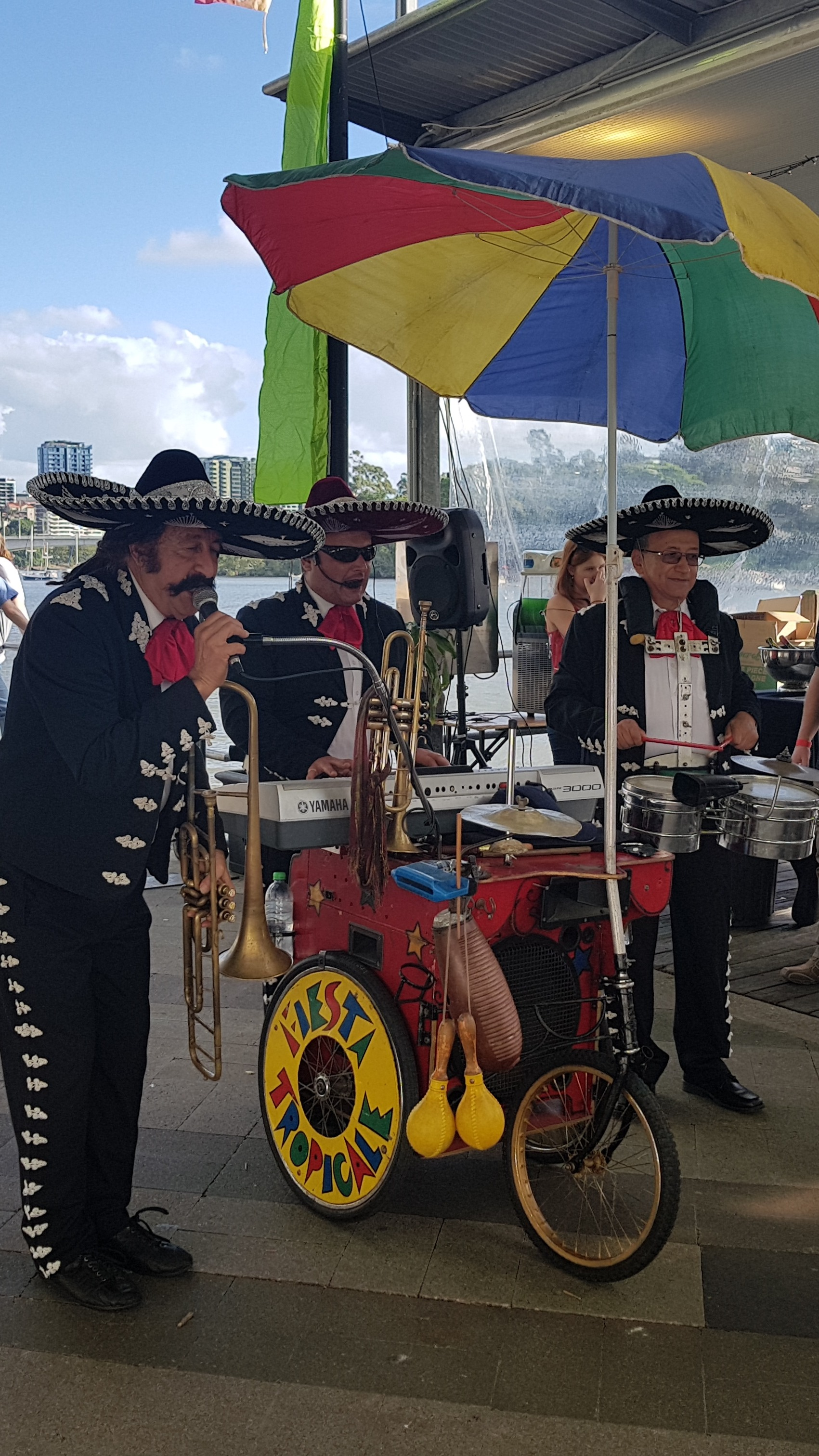 Mexican band singers