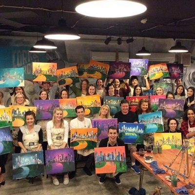 Cork & Chroma – A Paint and Sip Studio in Brisbane