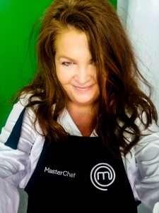 Regional Flavours Food & Wine Festival Brisbane - me wearing a MasterChef Apron
