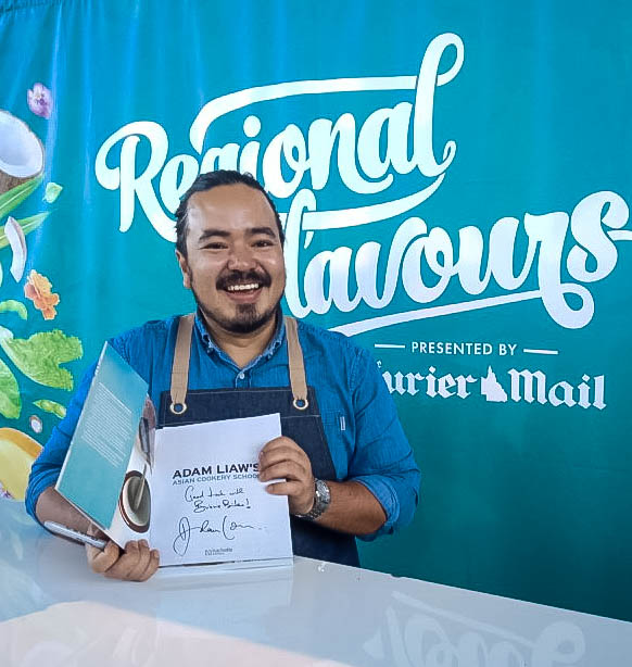 Book signing with Adam Liaw