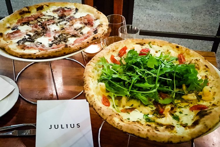 Best pizzas at Julius Pizzeria