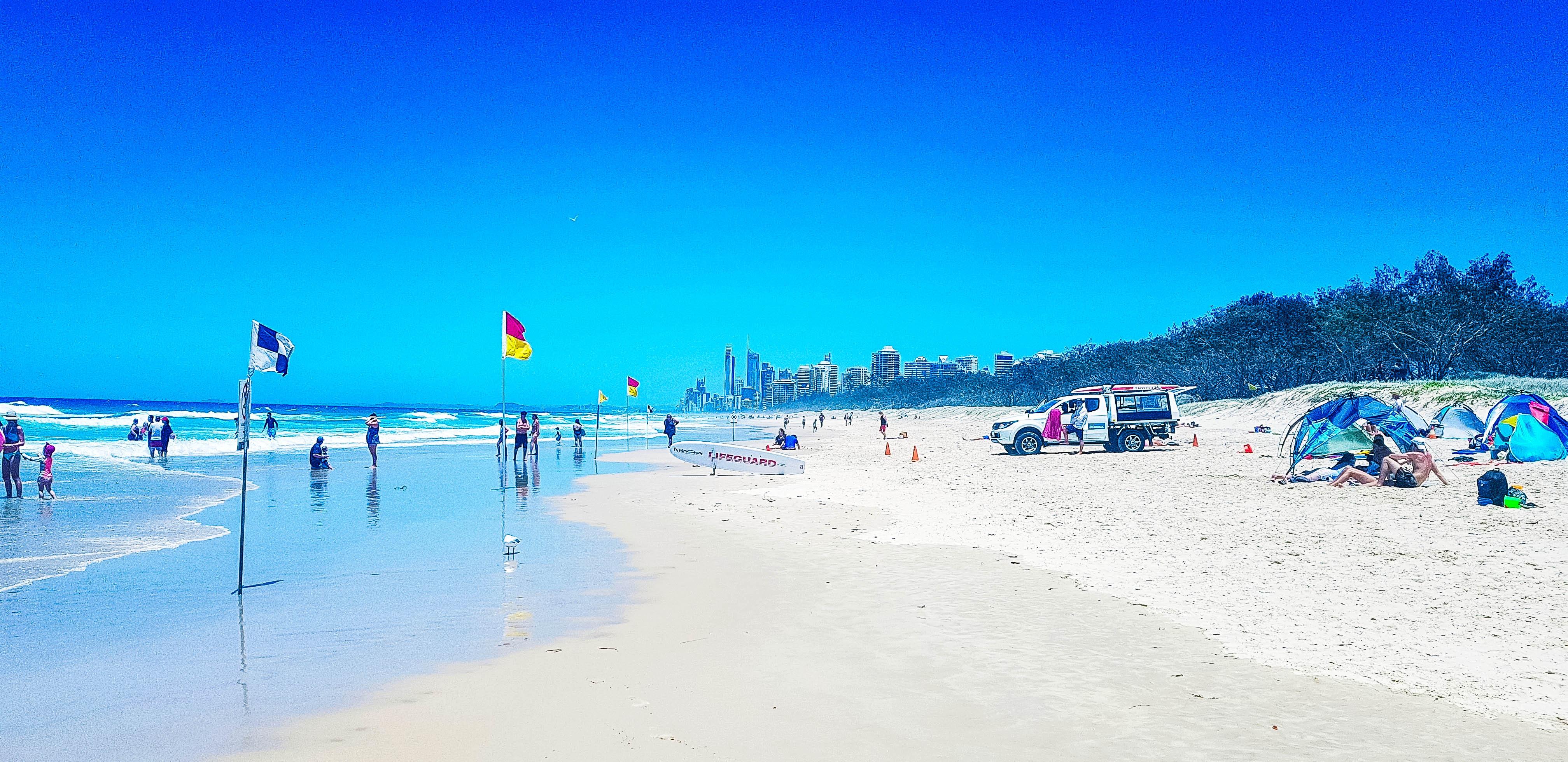Amazing surf beaches Gold Coast