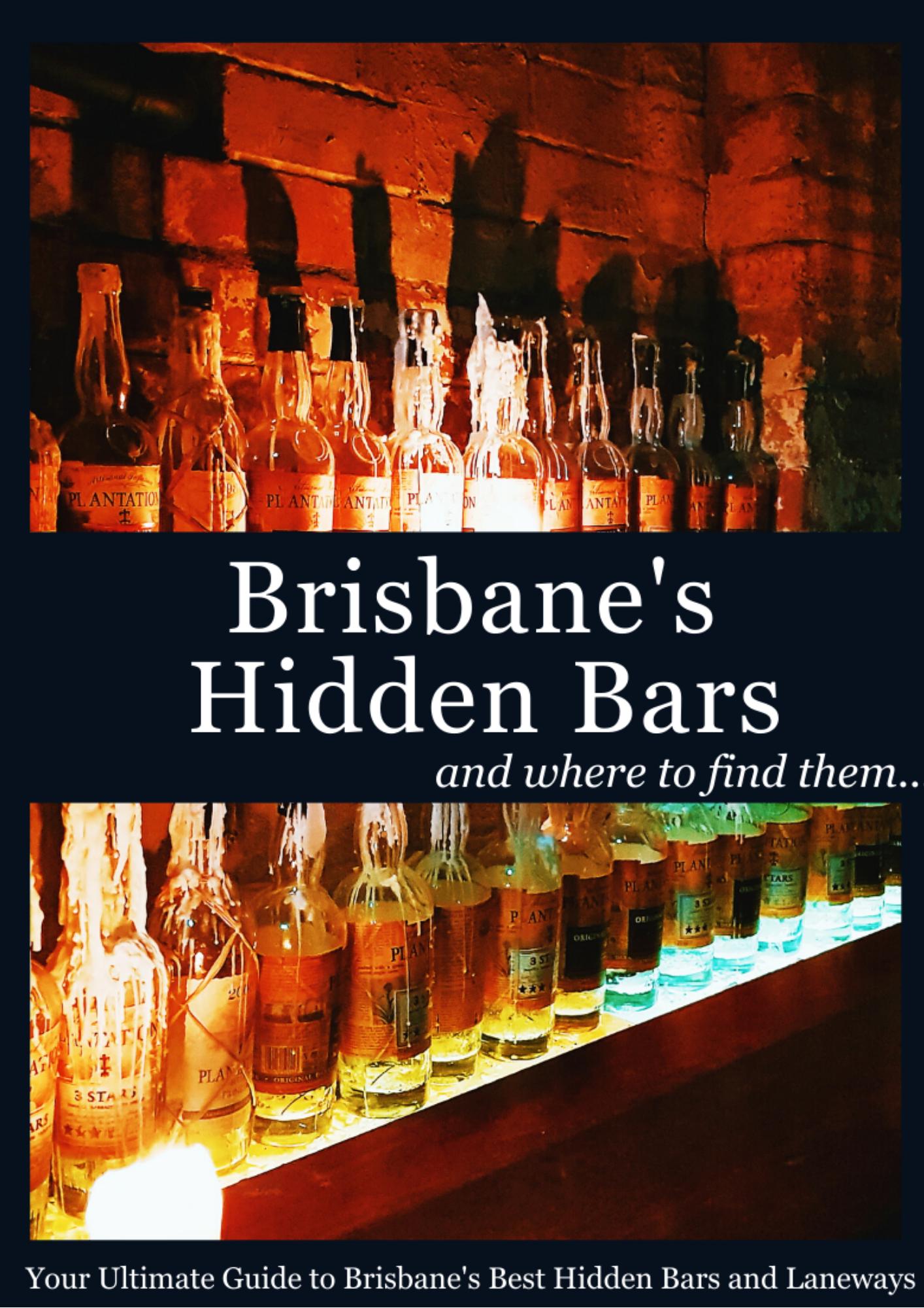Brisbane's hidden bars