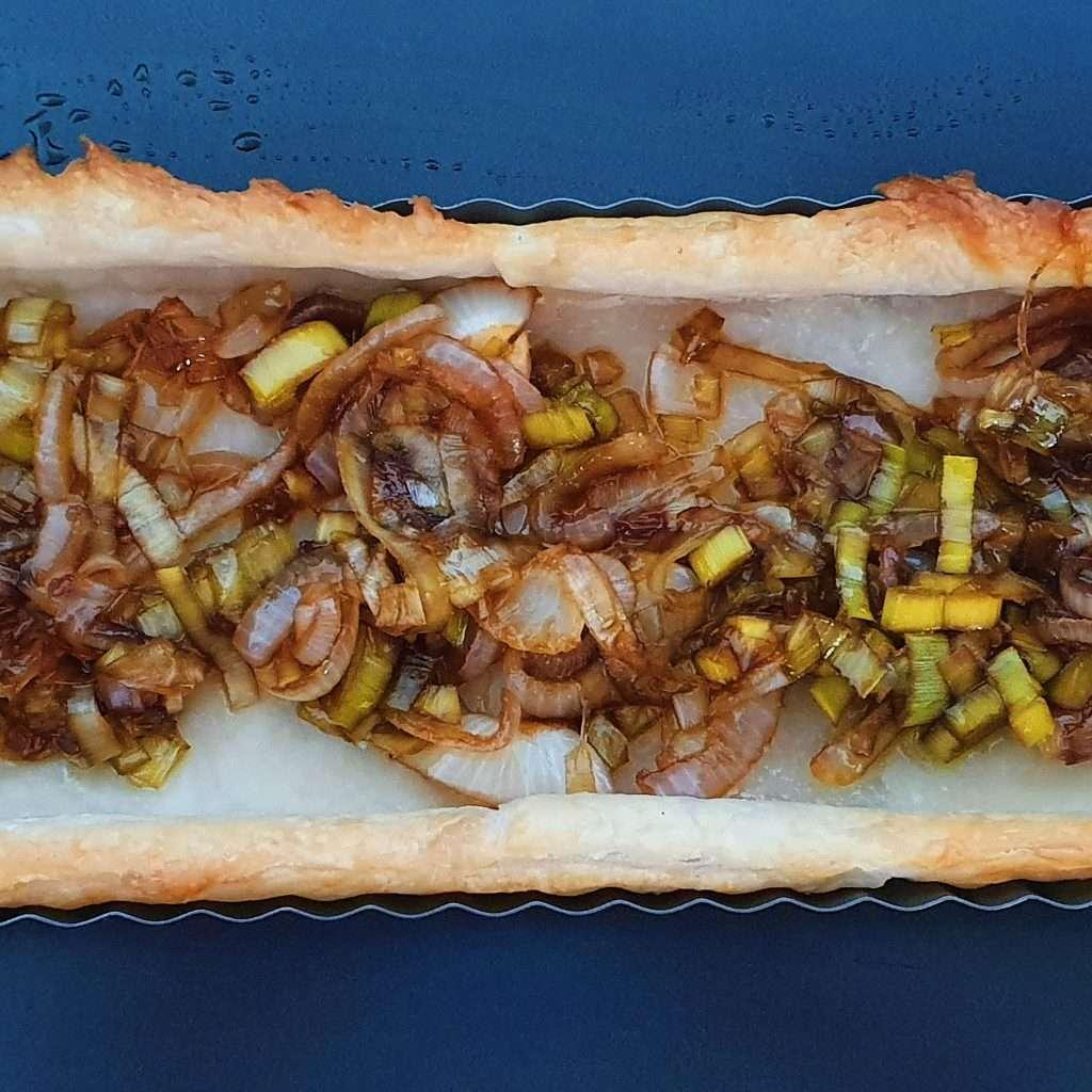 onions in tart